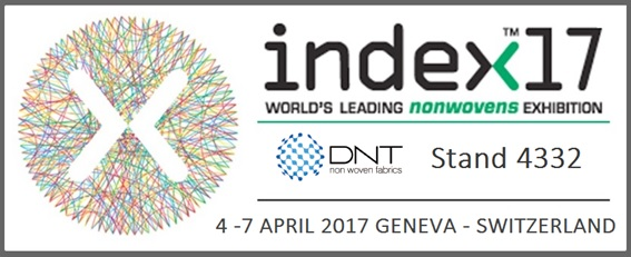 DNT Non Wovens Fabrics exhibirá en INDEX 2017