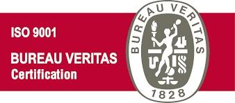 CERTIFICADO ISO 9001 BUREAU VERITAS